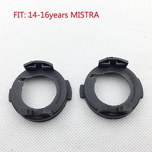 HERWIN 2pcs Hyundai Mistra Elantra LED H7 Headlight Holder Bulb Adapter Socket For halogen Update to LED Source