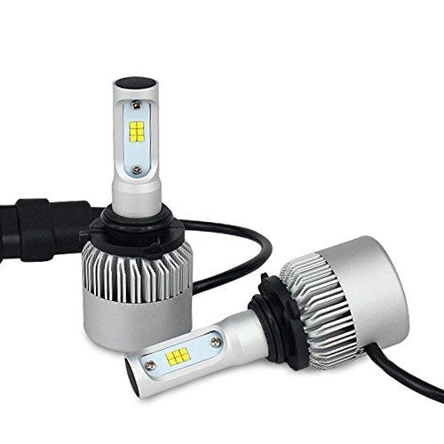 Globled 16000LM 9006HB4 Car Headlight Lamps 72W LED Headlight Bulbs Conversion Kit High Beam W Advanced CSP Chips 9006