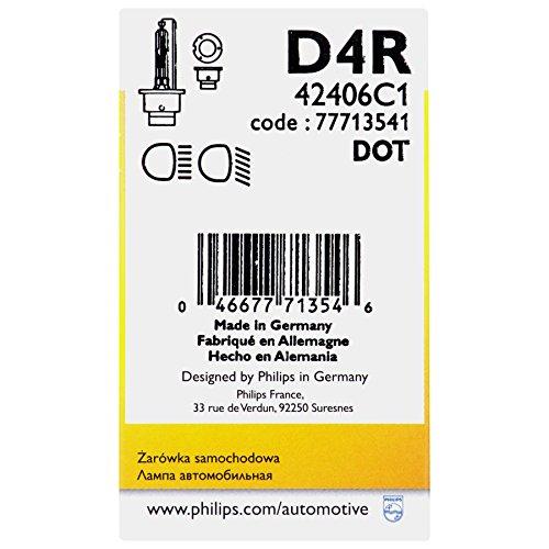 Philips 42406C1  D4R Standard Xenon HID Headlight Bulb 1 Pack