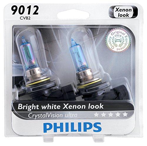 Philips 9012CVB2 CrystalVision Ultra Upgrade Headlight Bulb 9012 HIR2 2 Pack