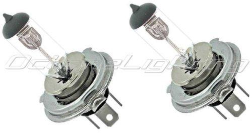 OCTANE LIGHTING 24 Volt Halogen Headlight Military Truck Headlamp Light Bulbs 90100W H4 24V Pr