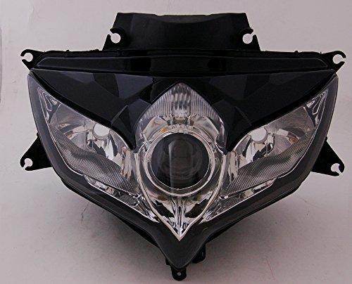 Areyourshop Front Headlight Headlamp Assembly For Suzuki GSXR 600750 2008-2010 K8