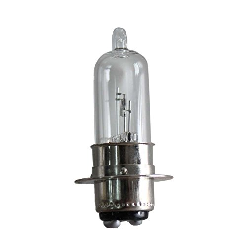 PODOY Pack of 10 Scooter Front Headlight Bulb for Gy6 Scooter 12v 1818w P15d251