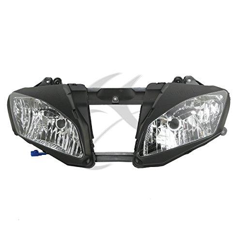 TCMT Black Front Headlight Head Light Lamp For Yamaha YZF-R6 YZFR6 2006-2007