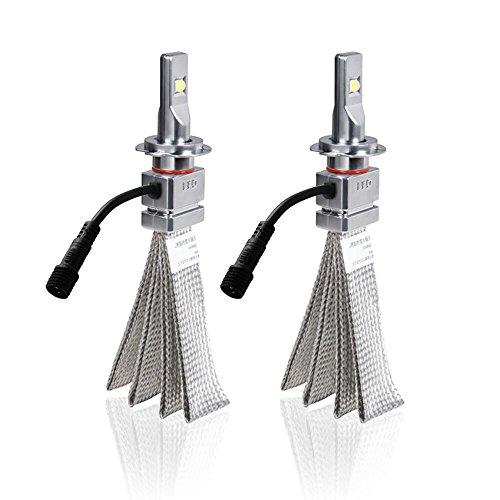 H7 LED Headlight Bulbs Conversion Kit  CREE XHP50 Chip 6000lm 6000K - 2 Years Warranty