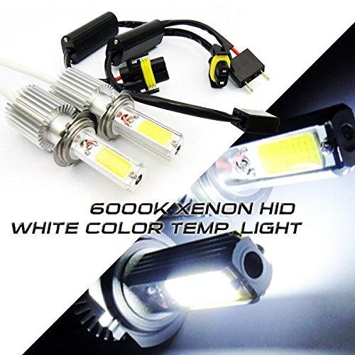 LEDIN 2x H7 High Power COB LED High Beam Headlight Bulb 3200lm 40W Xenon White