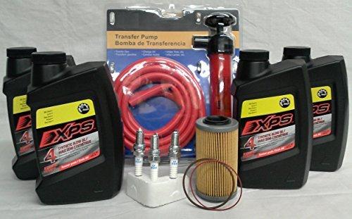 Sea Doo Oil Change Kit 4 Tec Four Stroke SeaDoo PWC GTX RXP RXT GTI With Premium Oil Pump