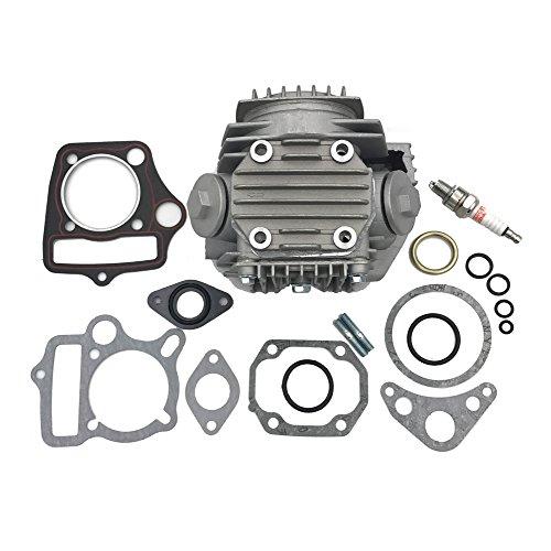 JOYII Completed Cylinder Head for 4 Stroke 110cc Engine for ATV Go Kart Dirt Bike