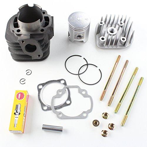 Niche Industries 1821 Polaris Scrambler 90 Cylinder Head Piston Gasket Top End Kit 2001-2003
