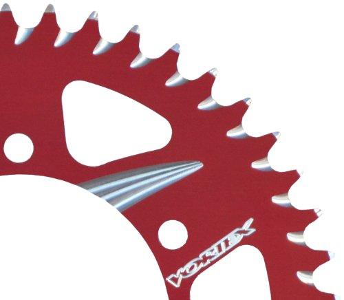 Vortex 225ZR-48 Red 48-Tooth 520-Pitch Rear Sprocket