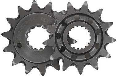 Renthal Steel Front Sprocket - 13T  Sprocket Teeth 13 Color Natural Material Steel Sprocket Size 520 Sprocket Position Front 432--520-13P