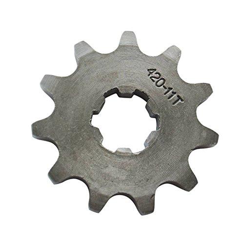 420 Chain 11 Tooth Sprocket 17mm Fits 125cc 140cc 150cc 160cc ATV Dirt Bike