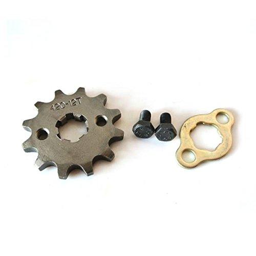 JRL 1 420 12T 17mm Front Engine Sprocket For 125 140 150 160cc Lifan Loncin Dirt Bike