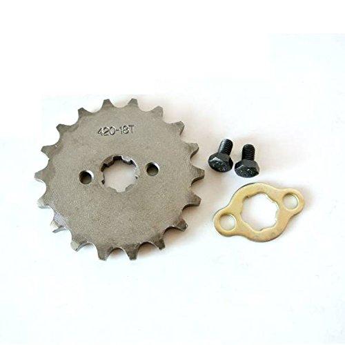 JRL 1 420 18T 17mm Front Engine Sprocket For 125 140 150 160cc Lifan Loncin Dirt Bike