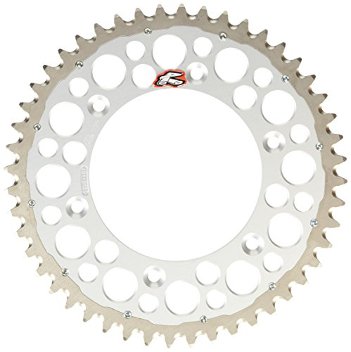 Renthal 2240-520-48GPSI Twinring Silver 48 Tooth Rear Sprocket