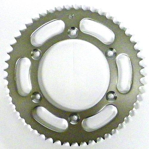 Kawasaki Steel Rear Sprocket Moto-X KLX 125 2003-2006 KLX-L 125 2003-2006 51 Teeth RSS-025-51 OEM  42041-S001 64511-08G00