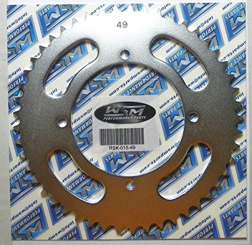 Kawasaki Steel Rear Sprocket Moto-X KX-BW 80 1991-1995 KX 85 2001-2017 KX 100 1995-2017 49 Teeth RSK-015-49