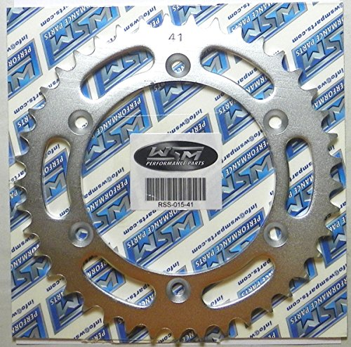 Suzuki Steel Front Sprocket Moto-X RMX 250 1989-2017 DR 350 1990-1999 DRZ 400 2000-2009 2011-2017 RMX 450 2010 RMZ 450 2005-2017 41 Teeth PWC RSS-015-41