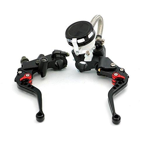 Alpha Rider 78 CNC Brake Clutch Master Cylinder Lever Fluid Reservoir Fit For Motorcycle Yamaha YZF R1 R6 1999-2015 R6S 2006-2009 FJR1300 2004-2005 WR450F 2009