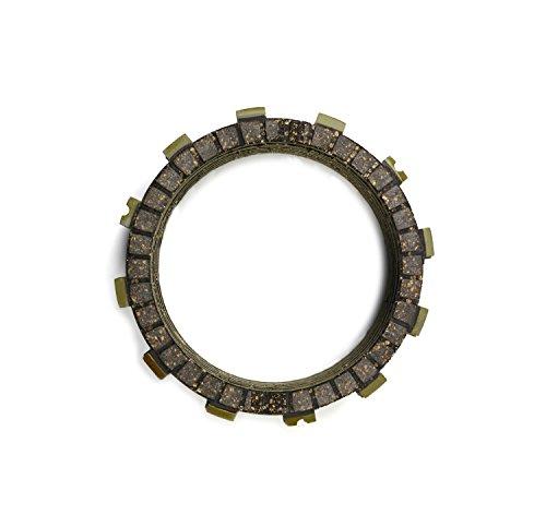 ZJTG AUTOMOTIVE Clutch Disc Friction Plates Set 5pcs for KAWASAKI EX250 NINJA 250 2013-2016 13 14 15 16 NINJA 205R 2008-2012 08 09 10 11 12