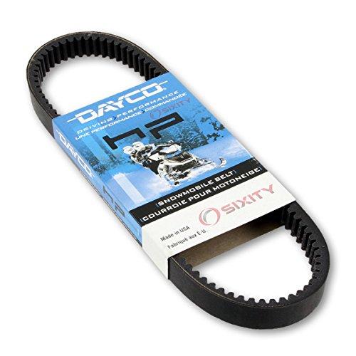 1988-1993 Ski-Doo Tundra Drive Belt Dayco HP Snowmobile OEM Upgrade Replacement Transmission Belts