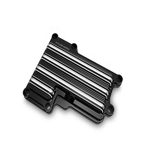 Arlen Ness 03-853 Black 10 Gauge Top Transmission Cover