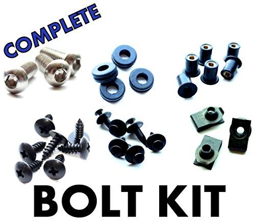 Honda CBR600 F3 95 96 97 98 Motorcycle Fairing Bolt Kit Complete Screws and Fasteners kit CBR 600 F-3 1995 1996 1997 1998