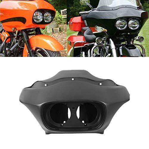 TCMT Matt Black Inner Outer Headlight Fairing Fits For Harley FLTR Road Glide 1998-2013