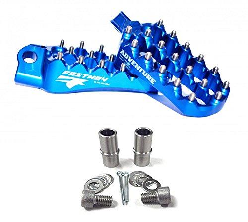 Fastway ADVENTURE Footpeg Kit - BLUE - Husaberg Husqvarna KTM _22-3-ADVBLS22-3-5031S