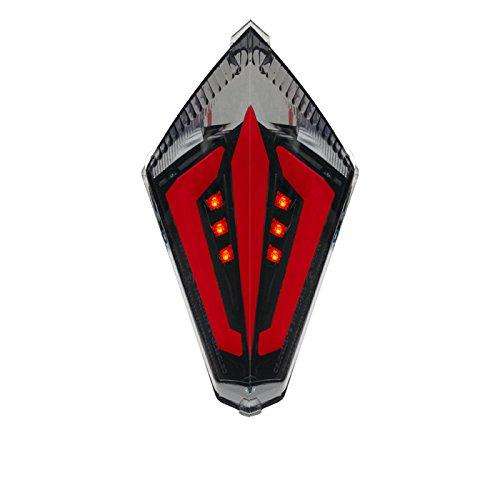 Integrated Led Tail Light BlackSmoke Yamaha R1 Year 070820072008