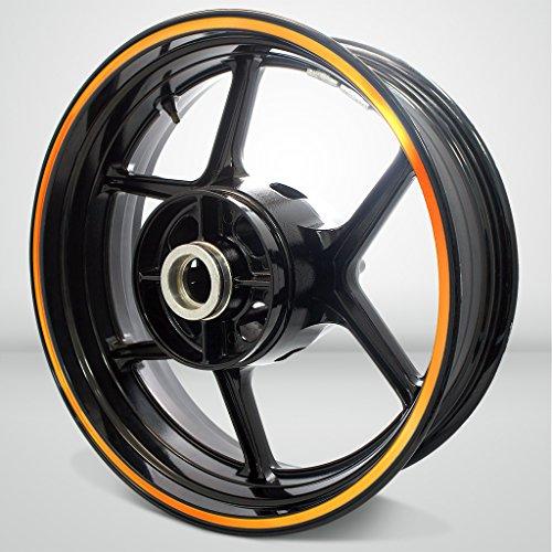 Thick Outer Rim Liner Stripe for Honda CBR 929 Reflective Orange