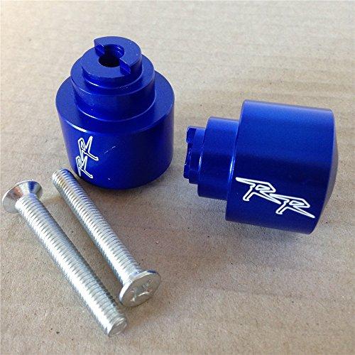 Hand Bar Ends For Honda CBR 250 600 900 929 954RR 1100 RR CBR1100XX RC51 Blue