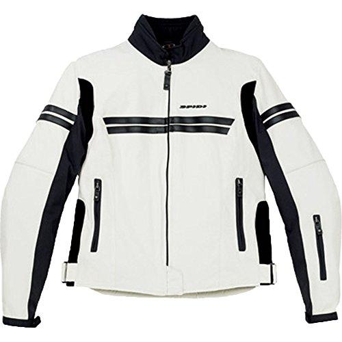 Spidi Jk Women's Textile Street Bike Motorcycle Jacket - Ice/black / Medium