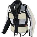 Spidi Net Force H2out Jacket - 2x-large/ice/black