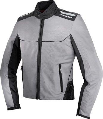 Spidi Sport S.r.l. Netix Tex Jacket , Size: 2xl, Distinct Name: Black/gray, Gender: Mens/unisex, Apparel Material