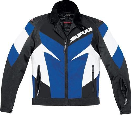 Spidi Sport S.r.l. Trackster Tex Jacket , Apparel Material: Textile, Size: 2xl, Primary Color: Blue, Gender: Mens
