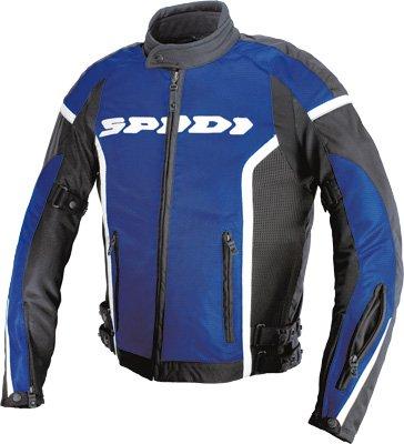 Spidi T131-022-2x; Net Gp Mesh Jacket Black/blue Made By Spidi