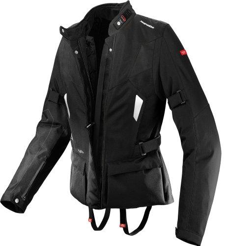 Spidi Voyager H2out Womens Black Textile Jacket - Large