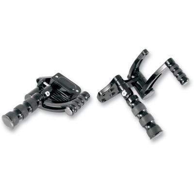 GMA Engineering GMAFC-100-B Black Forward Control For Harley-Davidson Softail