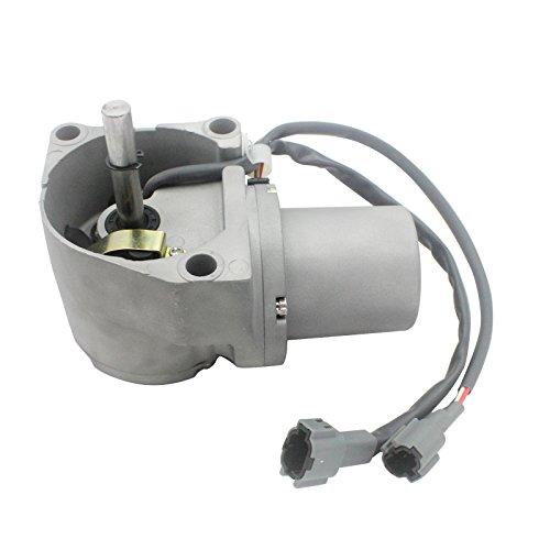SINOCMP Excavator 4614911 Round Throttle Motor for Hitachi EX200-6 6BG1 Excavator Parts Fuel Motor 6 Month Warranty
