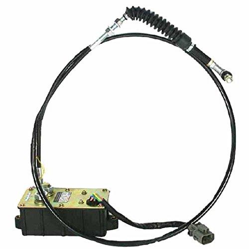 SINOCMP Long Single Line 6D14 6D15 6D16 Throttle Motor Assy Stepping Motor for Kato HD800-7 HD900-7 HD1250-7 HD1430-5Ⅱ HD1023ⅡⅢ