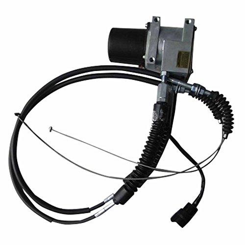 SINOCMP Round Throttle Motor Assy Stepping Motor for Kato HD800 HD900 1 year warrranty