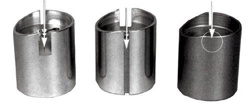 Mikuni Throttle Valves Brass Chrome Plated 38 Spigot RH idle screw position Cut away size VM3 003144