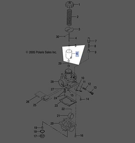 Polaris 1989-2006 Trail Boss 2X4 Throttle VALVE 3130420 New OEM