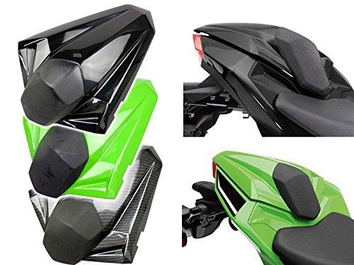 Motorcycle Rear Passenger Pillion Solo Seat Cowl Hard ABS Motor Fairing Tail Cover for 2013-2014 Kawasaki Ninja 300R EX EX300R 13-14 White