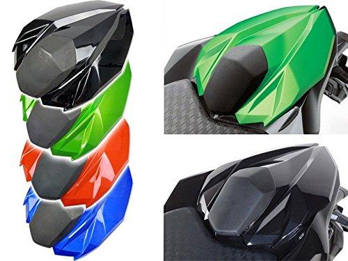 Motorcycle Rear Passenger Pillion Solo Seat Cowl Hard ABS Pad Motor Fairing Tail Cover for 2012-2015 Kawasaki Ninja Z800 2013 2014 12-15 Black