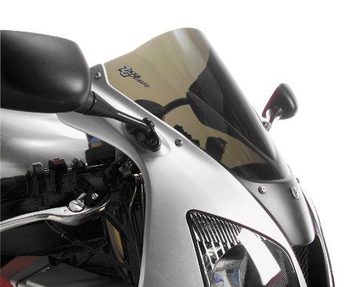 Zero Gravity Double Bubble Windscreen Light Smoke for Kawasaki Ninja 300R250R 13-16 16-282-02