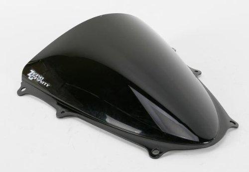 Zero Gravity SR Series Dark Smoke Windscreen for Kawasaki 2012-13 Ninja 650R - One Size