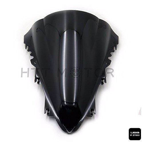 HTTMT- 2007-2008 Yamaha YZF-R1 YZF R1 1000 Smoke Double Bubble Windshield Wind Screen