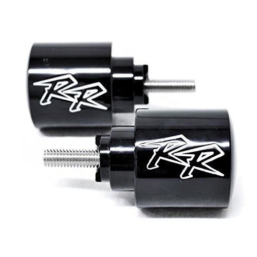 Krator HBD001-1B RR Engraved Bar Ends Weights Slider1 Pack